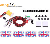 RC LED Lighting System NAV Lights Navigation LEDs - Plane Heli Quad FAA orangeRX