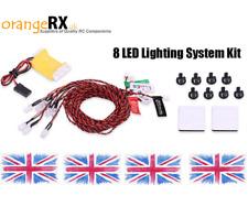 RC LED Lighting System NAV Lights Navigation LEDs - Plane Heli Quad FAA orangeRX