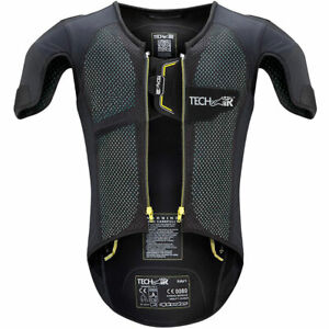 Alpinestars Tech-Air Race Motorbike Motorcycle Airbag Vest Black / Fluo Yellow