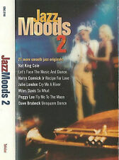 JAZZ MOODS 2 ELLA HOLIDAY MILES PINE OMAR GALLIANO CASSETTE ALBUM SMOOTH JAZZ