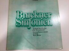 12' DLP Bruckner Sinfonie Nr 4 Es-dur'' Die Romantische* Kurt Masur Eterna