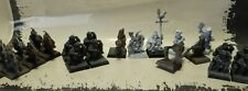WFB Warhammer Imperium Halblinge Halflings 21 Miniaturen Metall