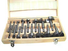 New 16pc Forstner Drill Bit Set Woodworking Hole Saw Forstner Set Professional