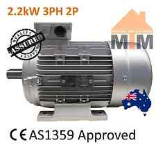 3 PH Three Phase Air Compressor Electric Motor 415V 2.2kW 3HP 2800rpm 2 Pole