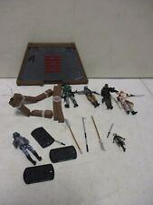 4 Modern GI Joe Cobra Action Figures with Playset