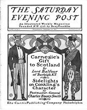 Saturday Evening Post  -  Full Magazine - No Mailing Label - September 14, 1901