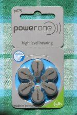 18 X Powerone Varta Type 675 P675 PR48 Pile pour Appareil Auditif Cloque Piles