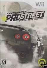 Used Wii Need for Speed: Pro Street  Nintendo JAPAN JP JAPANESE JAPONAIS IMPORT