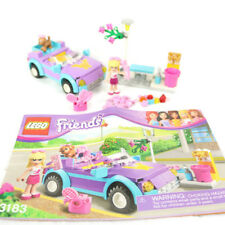 LEGO Friends Stephanie's Cool Convertible Car 3183 Retired Instruction Manual