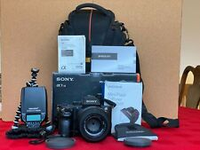 Sony Alpha A7R II 42.4 MP Mirrorless Camera + Sony 55mm 1.8 lens + Extras