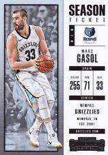 Marc Gasol  2017-18 Panini Contenders Basketball Sammelkarte, #43