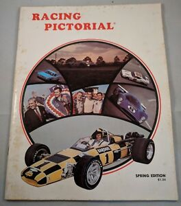 1969 Racing Pictorial Magazine Spring Edition Daytona Indycar Driver List Incl.