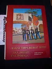 US Marine Corps RECRUIT DEPOT MCRD San Diego 1972 Yearbook 1108 Boot training