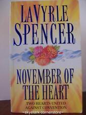 LaVyrle Spencer *November of the Heart* Romance Fiction - freepost!