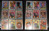 GARBAGE PAIL KIDS lot card 18 TOTAL Sticker Trading rare vintage 1987 NICE!