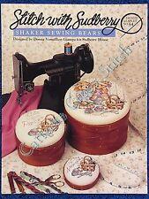 Cross Stitch Pattern Shaker Sewing Bear Sewing Teddies