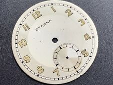 Vintage Eterna radium two tone dial