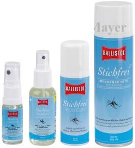 Ballistol Stichfrei Mückenschutz Zeckenspray Insektenschutz Fliegenschutz