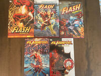 The Flash Hardcover and TP Lot - Rebirth / Flashpoint / New 52 - DC Comics