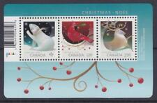 Canada 2017 Souvenir Sheet Christmas Animals - MNH