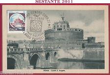 ITALIA MAXIMUM MAXI CARD CARTO. PROPOSTA BOLLO CASTEL S. ANGELO 1988 TORINO B58