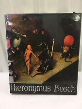 Hironymus Bosch by Charles De Tolnay - BG
