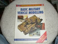 Basic Military Vehicle Modelling Compendium Modelling Manuals #3 SC