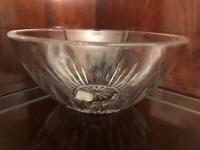 "PRINCESS HOUSE HIGHLIGHTS LEAD CRYSTAL 10"" SERVING BOWL"