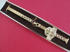 """NEW Kestenmade 10K Rolled Gold Plated Ladies Watch Band..11mm-9mm, 5 1/2"""""""