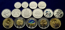 2017 CANADA 15-Coin FULL SET- Classical + 150-Yr Comm. Coins - UNIQUE - UNC