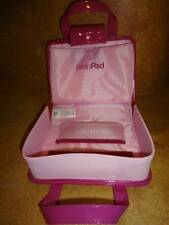 Leap Frog Fashion Handbag Protector Carrier Pink Vinyl Ages 4-9 NWT