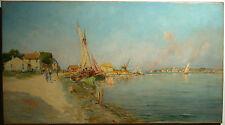 Else Schüller - Landschaft am Fluss - 1893/8