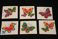 18 x Butterfly Tattoos Great for Kids Parties or Stocking Fillers