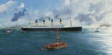 RMS Titanic White Star Line Ocean Liner Marine Painting Art Print