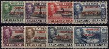 Multiple George VI (1936-1952) Falkland Island Stamps