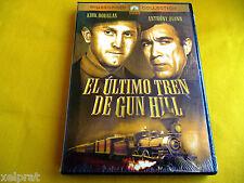 EL ULTIMO TREN DE GUN HILL Kirk Douglas  Anthony Quinn  John Sturges Precintada