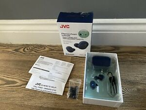 JVC HA-A10T-A-U In-Ear True Wireless Earbuds - Blue - USED ONCE
