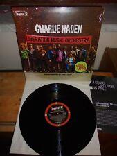 "Charlie Haden ""Liberation Music Orchestra"" LP IMPULSE!/DE AGOSTINI 2012- INSERT"