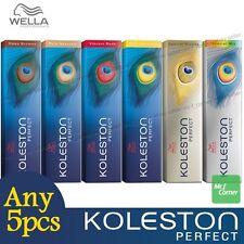 Any 5pcs - Wella Koleston Perfect Permanent Hair Color Dye 60g