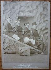 PHOTO ANCIENNE GRAND CDV / BERCHTESGADEN - ATELIER NEY-  1880 / 90 - RARE