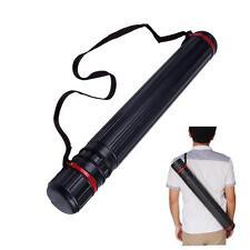 Adjustable Archery Arrow Telescopic Back Quiver Shoulder Holder Tube Case Arrows