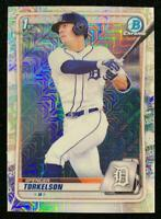 MLB Card 2020 Spencer Torkelson Topps Bowman Chrome Draft Asia Refractor Tigers