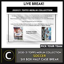 2020/21 TOPPS MERLIN CHROME Soccer 6 Caja media rotura de Estuche #S193 - Elige Tu TEA3