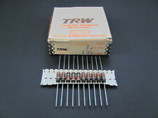 (5x) IRC TRW 2W 5% Molded Wire Wound Resistors, BWH Series, New Old Stock