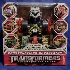 NEW Constructicon DEVASTATOR Box Set REVENGE OF THE FALLEN Hasbro 2009