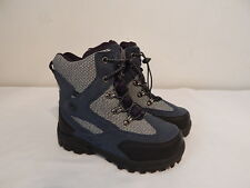 Girls youth Snow winter fall boots size 2 M BASS Blue Black nice wam Liners