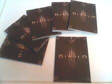 Diablo 3 mini promo note book-PS3 xbox 360 gaming marchandise de collection