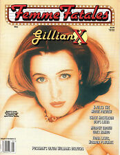 Femme Fatales Magazine May 1998 X Files Uncirculated