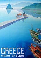 Corfu - A4 Glossy Poster - Film Movie Free Shipping #994