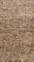 6'x9' Modern Abstract Moroccan Oriental Area Rug Hand-knotted Plush Wool Carpet